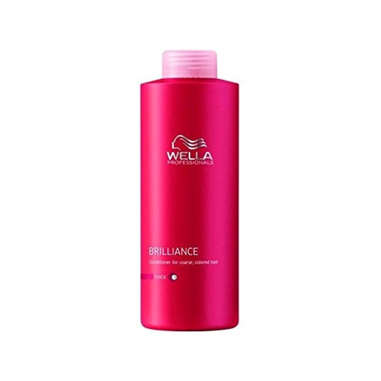 原稿不公平商標Wella Professionals Enrich Coarse Conditioner (1000ml) (Pack of 6) - ウェラの専門家は粗いコンディショナー(千ミリリットル)を豊かに x6 [並行輸入品]