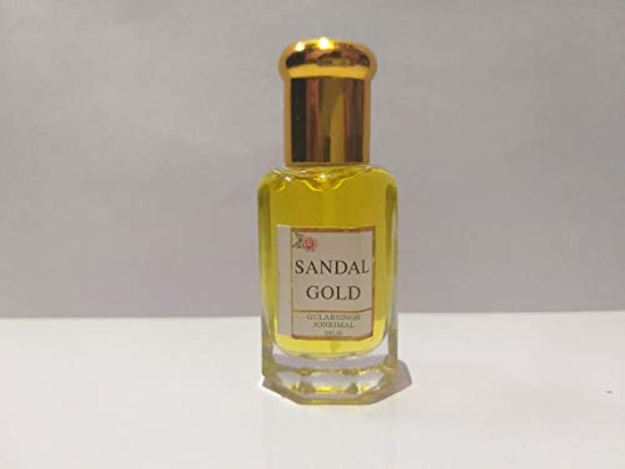 間違いなく学習マッシュSandal/白檀 / Chandan Attar/Ittar concentrated Perfume Oil - 10ml Beautiful Aroma