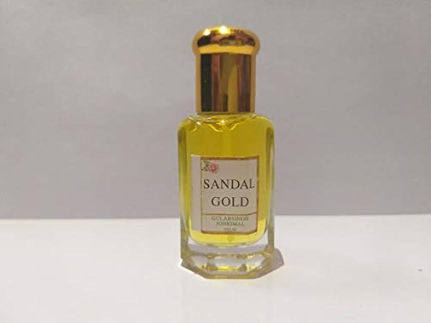 台風申請者リンスSandal/白檀 / Chandan Attar/Ittar concentrated Perfume Oil - 10ml Beautiful Aroma