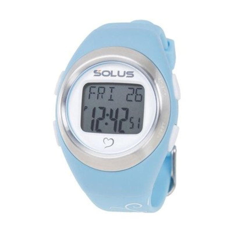 SOLUS(ソーラス) 800 心拍時計 ライトブルー(バタフライ) 〔ランニングウォッチ〕[通販用梱包品]