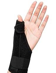 ThumbスプリントトリガーThumb腱鞘炎Wristband関節炎トリートメントThumb捻挫の関節を固定&安定化するブレース Roscloud@