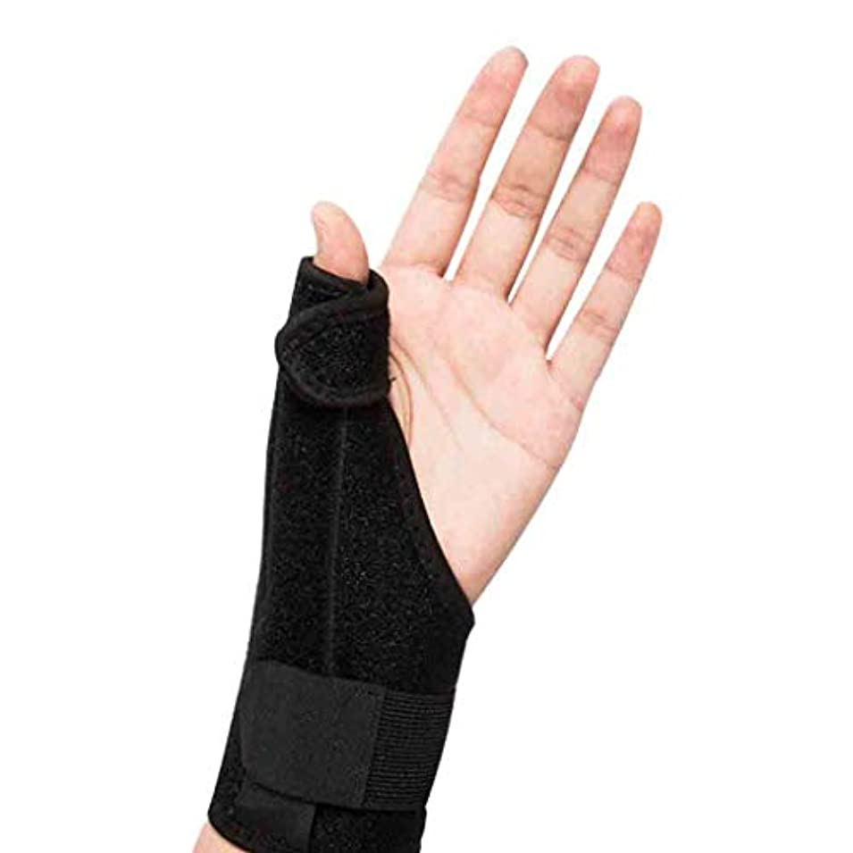 特異性呼吸のりThumbスプリントトリガーThumb腱鞘炎Wristband関節炎トリートメントThumb捻挫の関節を固定&安定化するブレース Roscloud@
