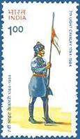 Bicentenary of 7th Light Cavalry Regiment Military Defence Flag Uniform Headgear Cavalry Regiment Rs 1