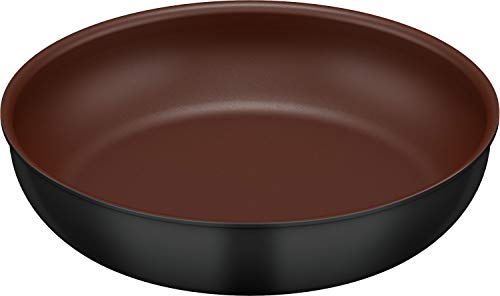 キッチンプラス 取っ手のとれるフライパン 28cm KFA-028 BK [ブラック]