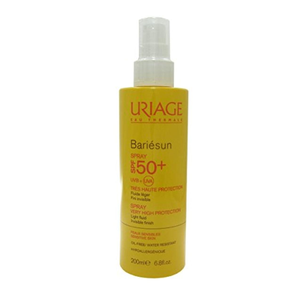 指令全部推進力Uriage Bariesun Spray Spf 50+ 200ml [並行輸入品]