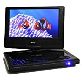 ワイド 9インチ TFT液晶 ディスプレー180度回転式 OREI P-901 mdf-ver TV出力可能 多地域対応 リージョンフリー リージョン0~6 (PALとNTSC 自動対応) 0.9kg 超軽量 コンパクト ポータブルDVDプレーヤー 100V - 240V (50HZ-60HZ) 世界共通プレミアム海外仕様