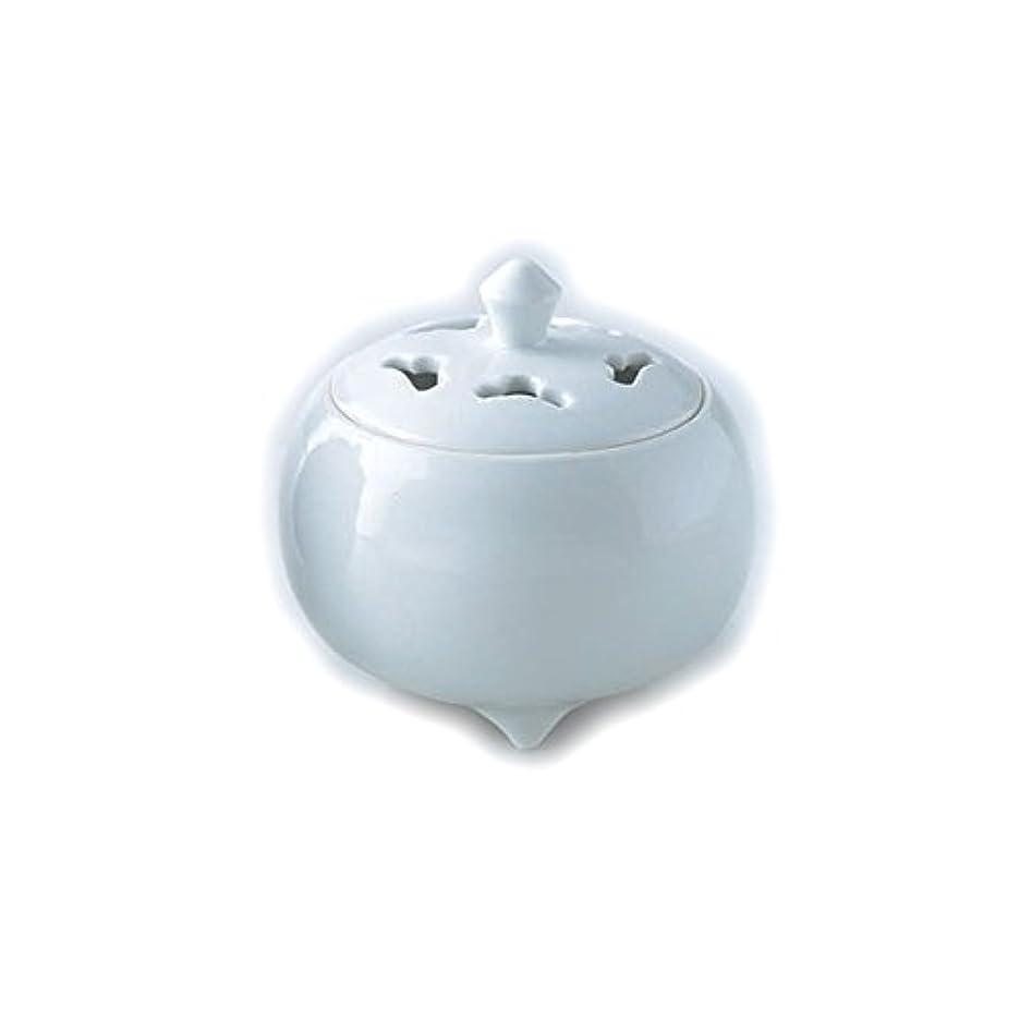 とげのあるお風呂を持っている恩恵香炉 白磁 紙箱入