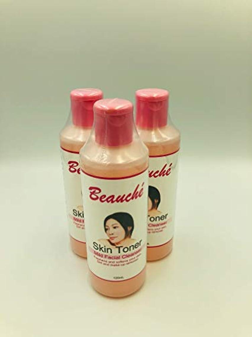 シート要件波Beauche Skin Toner【Mild Facial Cleanser】120m pieces set 【Free Shipping Nationwide】フィリピン SKIN TONER120ml 3個セット