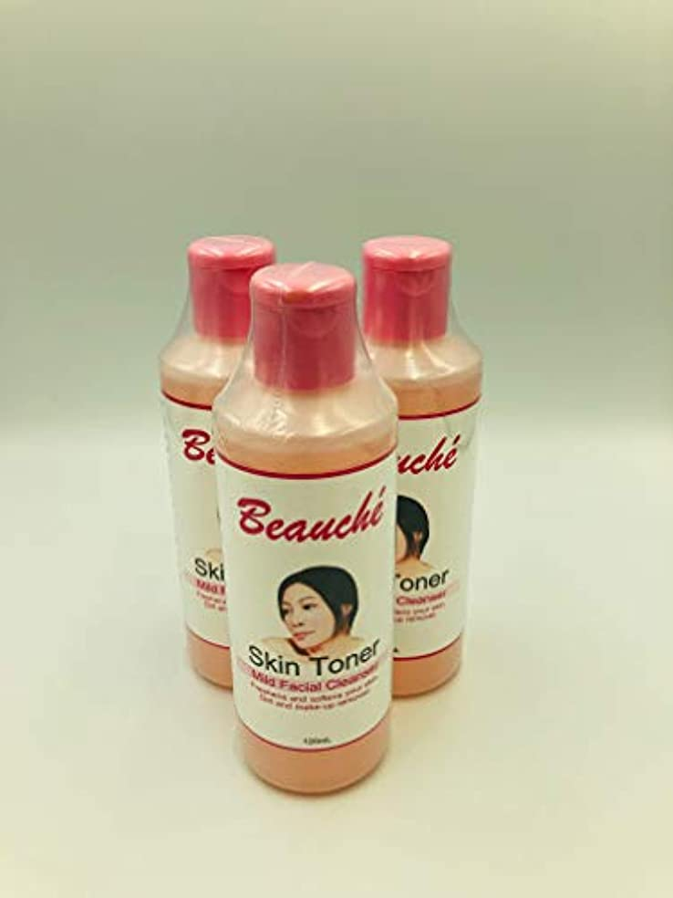 マオリビールグラスBeauche Skin Toner【Mild Facial Cleanser】120m pieces set 【Free Shipping Nationwide】フィリピン SKIN TONER120ml 3個セット