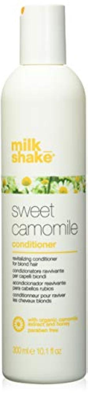 クロニクルサンダー少数milk_shake sweet camomile shampoo for revitalizing blonde hair - 300ml by Z-One Concept