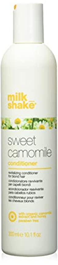 データベースインゲン対milk_shake sweet camomile shampoo for revitalizing blonde hair - 300ml by Z-One Concept