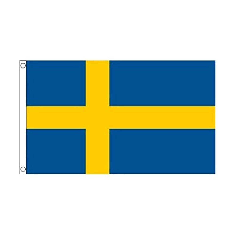 国旗 スウェーデン 王国 60cmx90cm 大フラッグ【ノーブランド品】