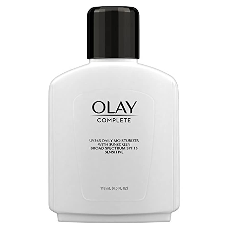 発見するどっち味わうOlay Complete All Day Moisture Lotion UV Defense SPF 15, Sensitive Skin, 4 fl oz (118 ml) (1 pack) (並行輸入品)