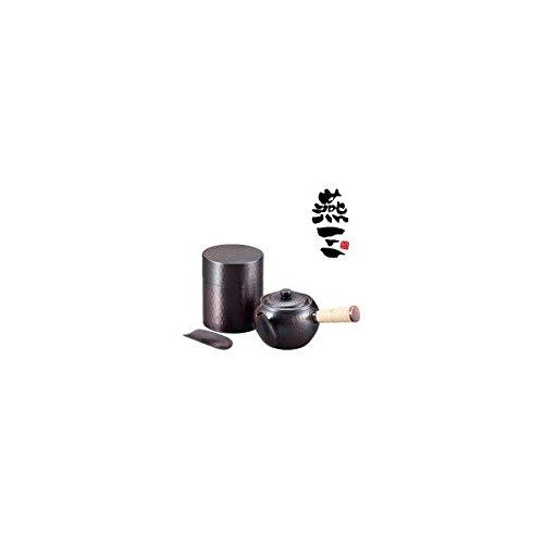 お茶を入れるなら銅の茶器に勝るものはない。 EM-8473 燕三(えんぞう) 純銅 急須・茶筒セット [簡易パッケージ品]