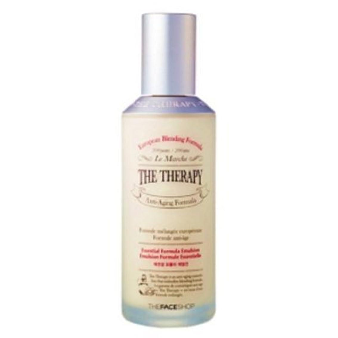 そこから考古学的な宣言する[The Face shop] The Therapy Essential Formula Emulsion 130ml