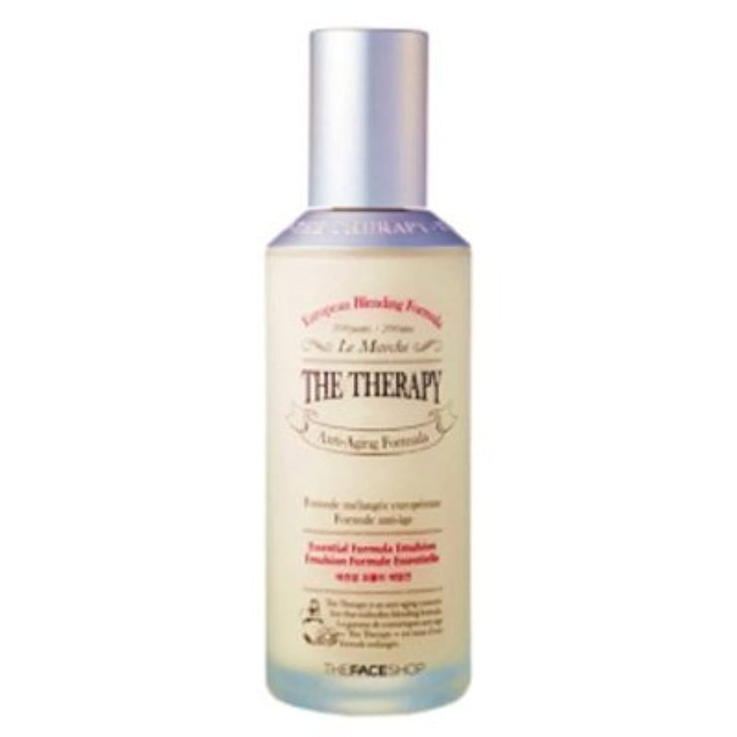 調整直面する旧正月[The Face shop] The Therapy Essential Formula Emulsion 130ml