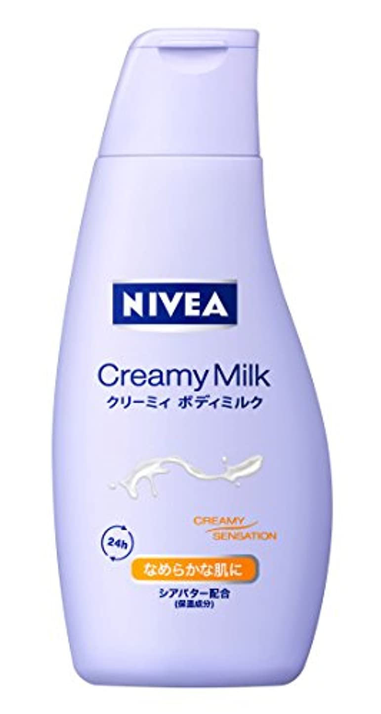 怠けた恒久的採用ニベア クリーミィボディミルク 200g