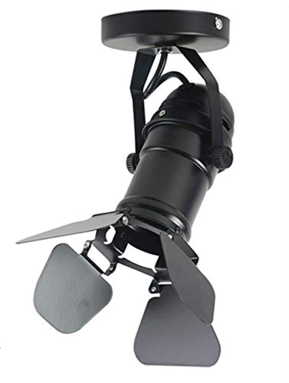 シャイニングのため確立壁面ライト, ミニウォールランプベースGu10 / E26 / E27工業用ライトランプ調節可能な4葉用コーヒーバーライト照明器具、ビッグサイズ AI LI WEI (Color : Big Size)