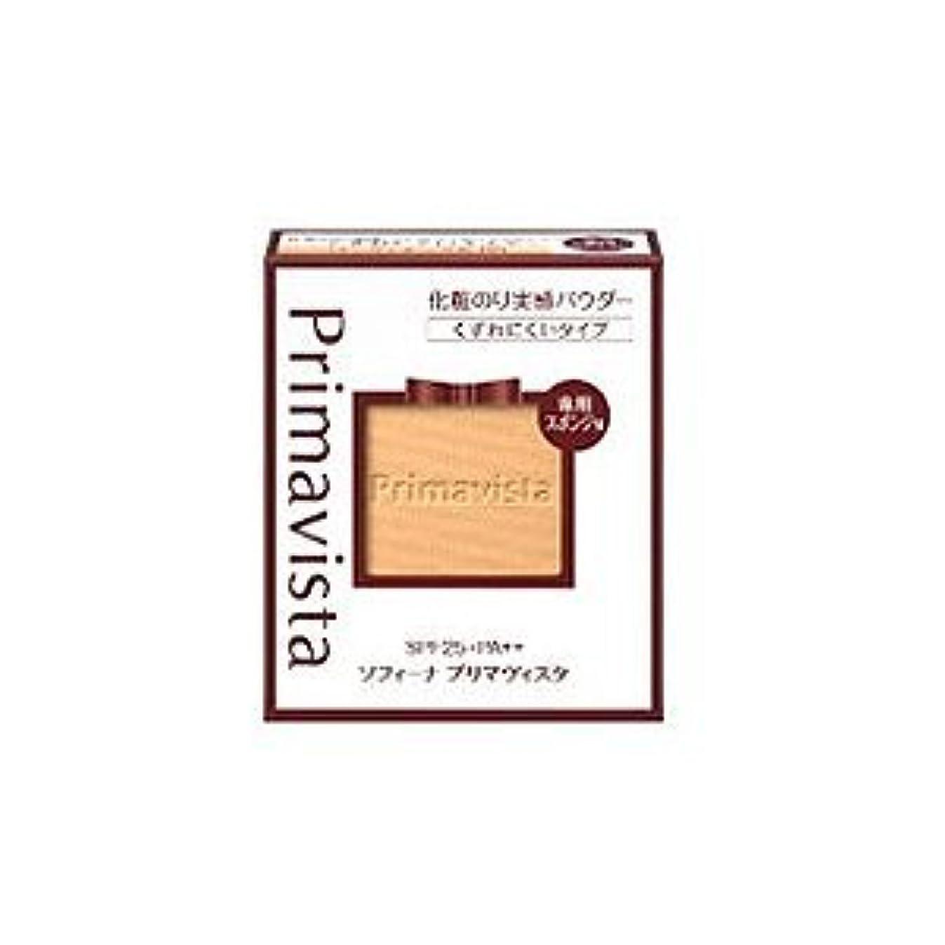 ソフィーナ プリマヴィスタ くずれにくい 化粧のり実感パウダーファンデーションUV ピンクオークル03 レフィル