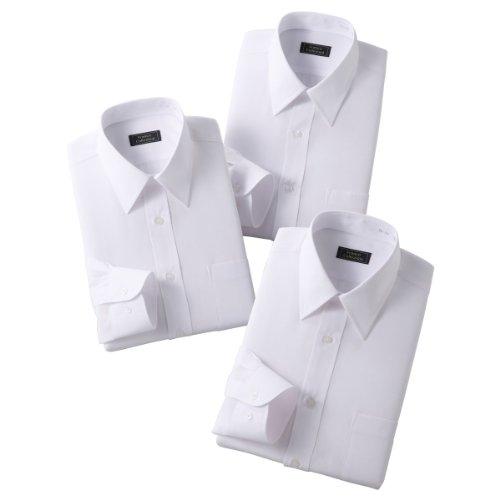 (フランコ コレツィオーニ)Franco Collezioni FC 白ワイシャツ3枚組 50324  ホワイト S