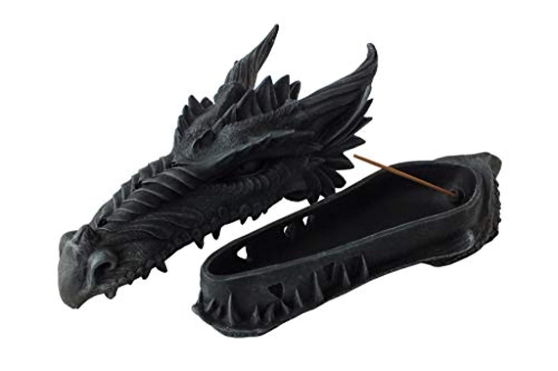 戦闘とても購入ゴシックドラゴンヘッド インセンスバーナー フィギュア Gothic Dragon Head Incense Burner Figurine