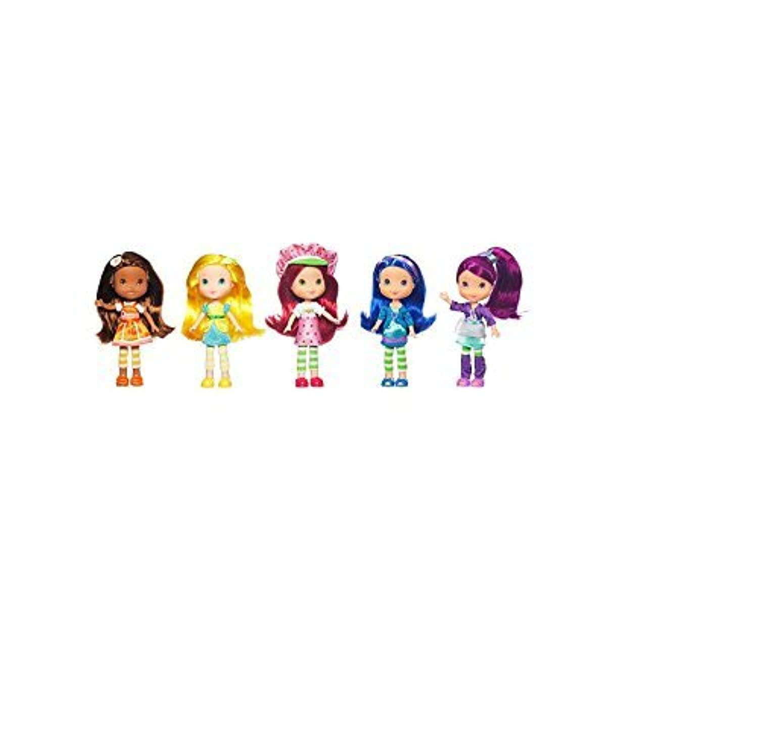 Hasbro Strawberry Shortcake Berry Best Collection Doll Set 7 Inches 5-Pack [並行輸入品]