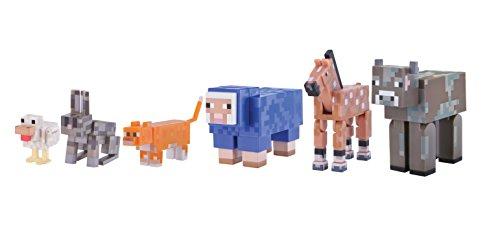 マインクラフト アクションフィギュア アニマルパック 飼いならされた動物