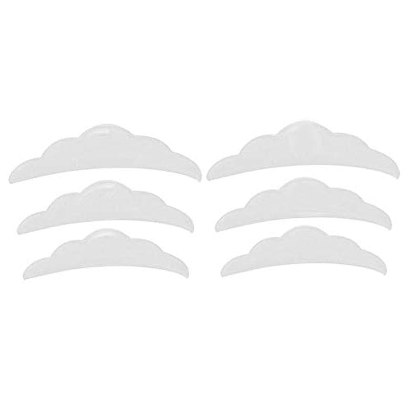 フェローシップ断片アレイシリコンまつげリフトリフティングカーラーラッシュシールドパッド小中大