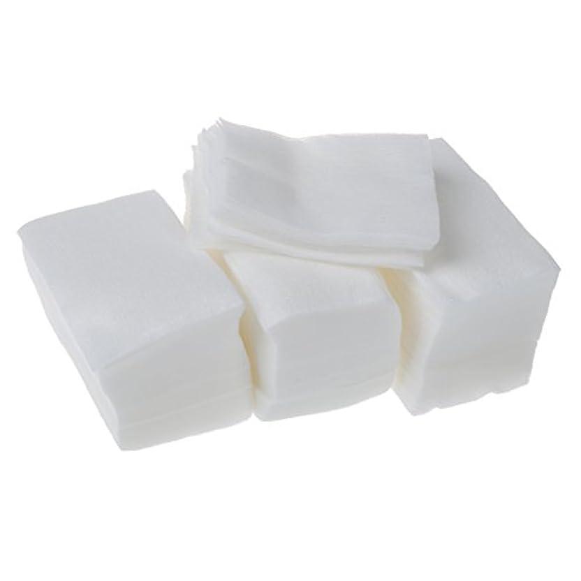 アリス荷物小康Gaoominy 320個 レディ ホワイト ネイルポリッシュリムーバ 長方形フェイスクリーニング コットンパッド