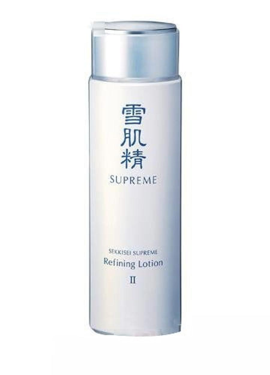 反抗タップ混乱したコーセー 雪肌精 シュープレム 化粧水 ※230mL II