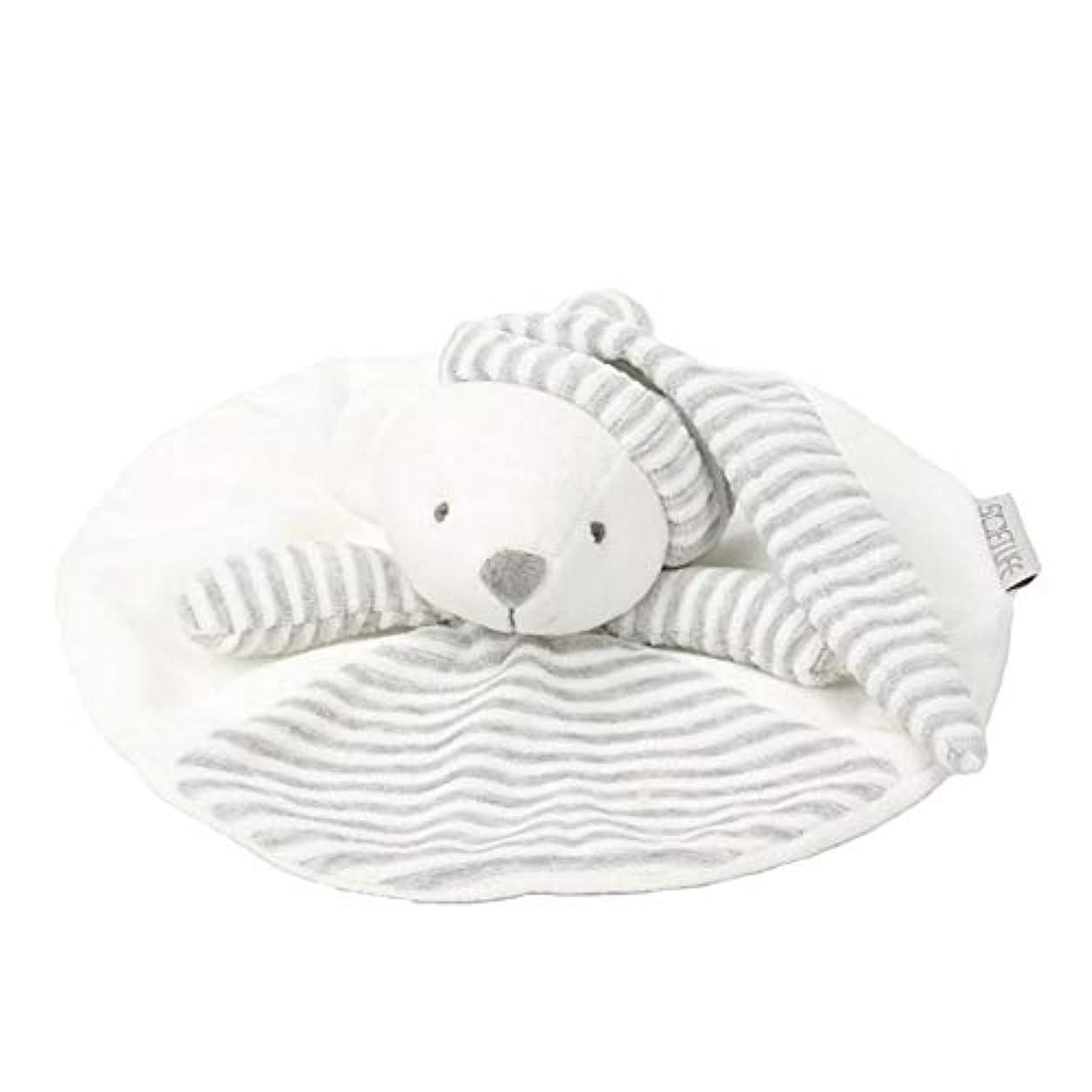 代理人プレゼン静かなbeibe 赤ちゃん 寝かしつけ用 くま うさぎ おしゃぶりタオル やわらか手触り お誕生日 出産祝い ギフト