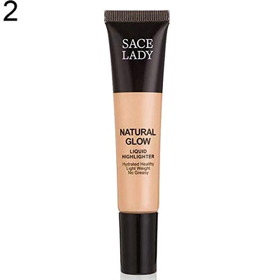 教室言語学シンボルSACE LADY液体蛍光ペン水和非脂っこい化粧顔ブロンザー - 2#