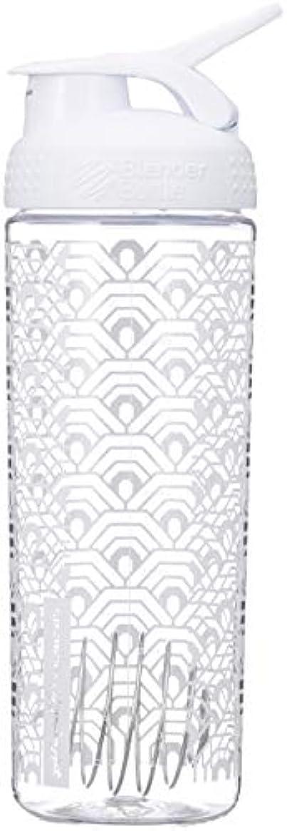 出来事悪因子些細なブレンダーボトル 【日本正規品】 ミキサー シェーカー ボトル Sports Mixer 28オンス (800ml) クラムシェルホワイト BBSMSL28 CLWH