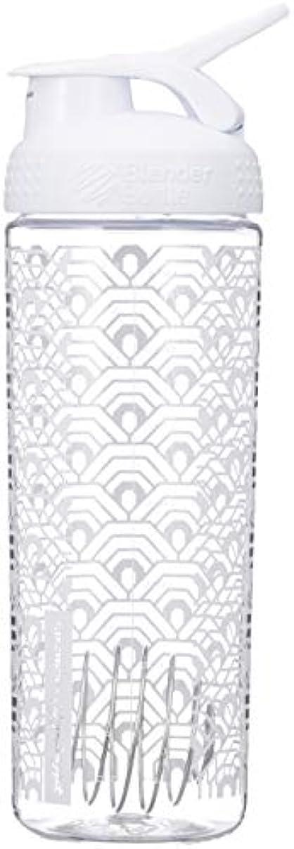 特定のシエスタ器用ブレンダーボトル 【日本正規品】 ミキサー シェーカー ボトル Sports Mixer 28オンス (800ml) クラムシェルホワイト BBSMSL28 CLWH