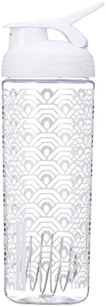 ビーム運河呼吸ブレンダーボトル 【日本正規品】 ミキサー シェーカー ボトル Sports Mixer 28オンス (800ml) クラムシェルホワイト BBSMSL28 CLWH