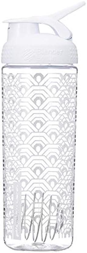 薬剤師モバイルオリエンタルブレンダーボトル 【日本正規品】 ミキサー シェーカー ボトル Sports Mixer 28オンス (800ml) クラムシェルホワイト BBSMSL28 CLWH