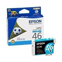 (業務用セット) エプソン(EPSON) インクカートリッジ シアン 型番:ICC46 単位:1個 【×3セット】 ds-1643836