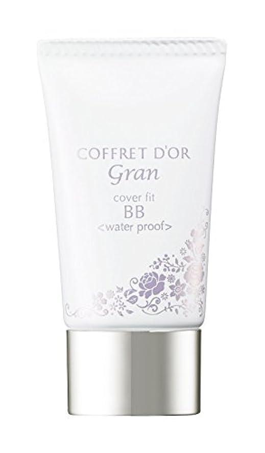 洗剤大量明らかにコフレドール グラン BBクリーム カバーフィットBB ウォータープルーフ ミディアムベージュ SPF40/PA+++ 25g