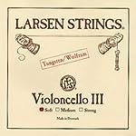 Larsen sc333131 チェロ弦 ORIGINAL オリジナル G弦 Soft 【バラ弦1本】 ラーセン