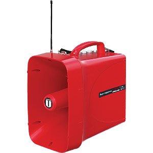 [해외]UNI-PEX 유니 펫 쿠스 방적 슈퍼 무선 메가폰 (사이렌 소리) TWB-300S/UNI-PEX Unipex drip-proof Super Wireless Megaphone (siren sound) TWB-300S