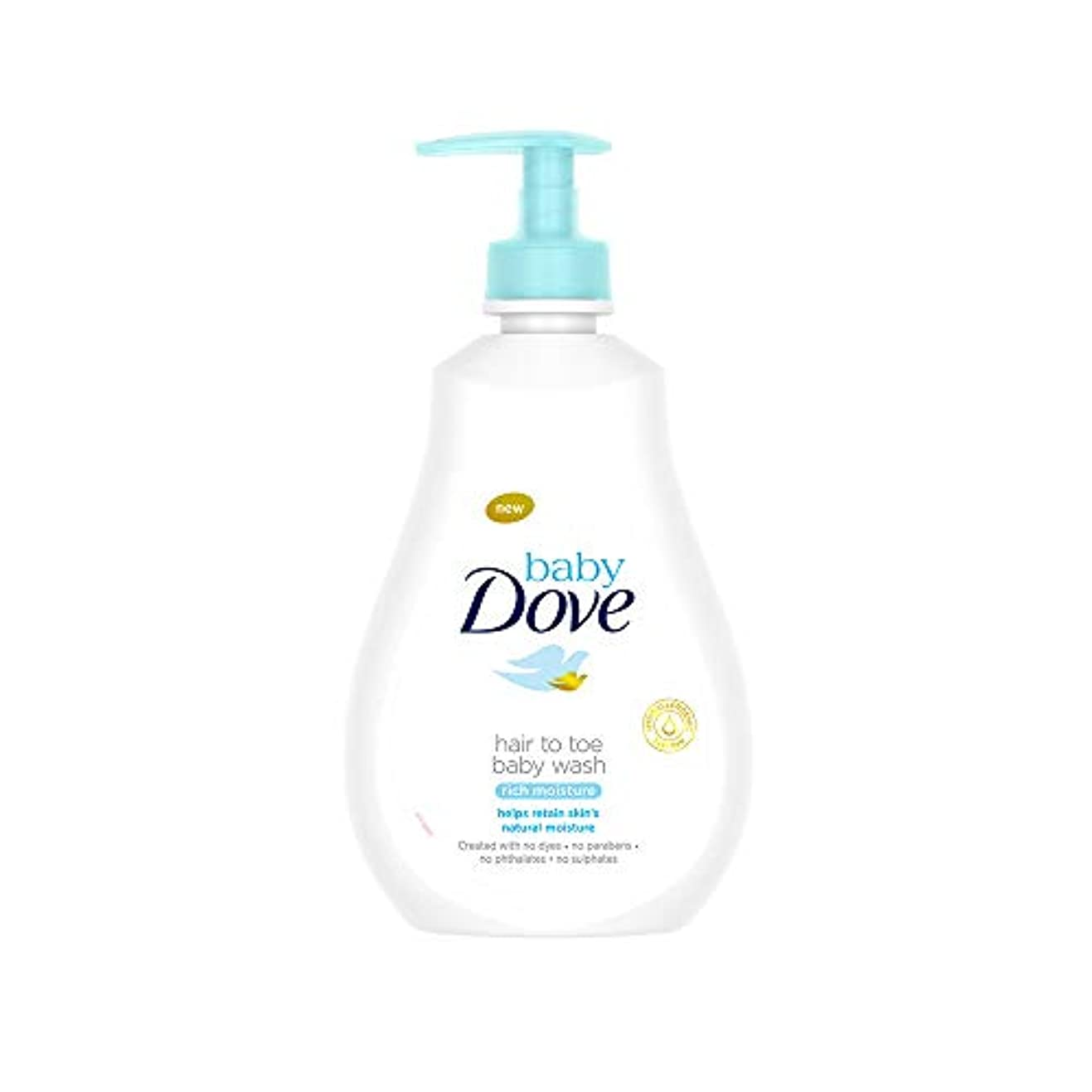 カタログマイナー株式会社Baby Dove Rich Moisture Hair to Toe Baby Wash, 400 ml