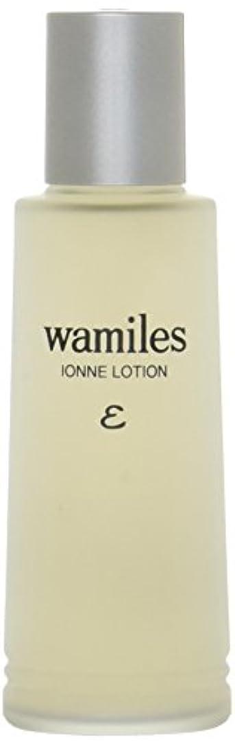 サーキュレーション可動所属wamiles/ワミレス ベーシックライン イオンヌ ローション 100ml