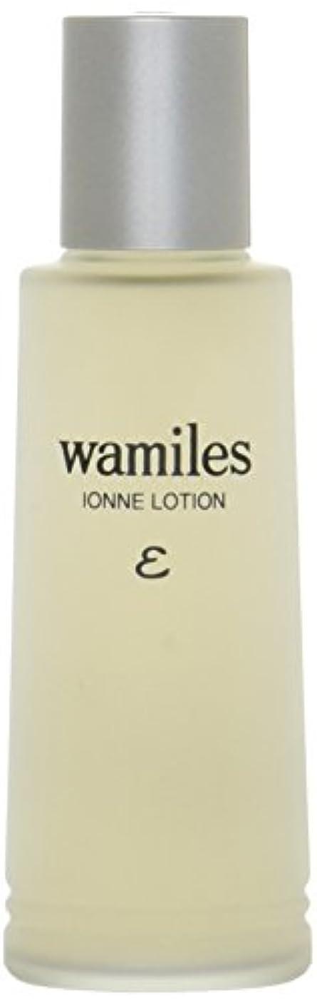 パステル実験調整可能wamiles/ワミレス ベーシックライン イオンヌ ローション 100ml