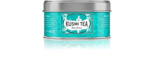 (KUSMI TEA) クスミティー ブルー デトックス 25g缶 [正規輸入品]