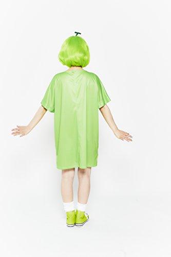 ジグ JUICYシリーズ JUICYメロンフルーツ コスチューム 女性 着丈82㎝ 身長155~165㎝ バスト88㎝まで ウエスト70㎝まで 頭囲60㎝まで