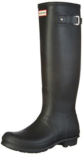 HUNTER(ハンター) レインブーツ ORIGINAL TALL ウィメンズ オリジナル トール ラバーブーツ 長靴 ロングブーツ レディース BLK-Black UK5(24.0cm) originaltall-UK5-WFT1000RMA-BLY