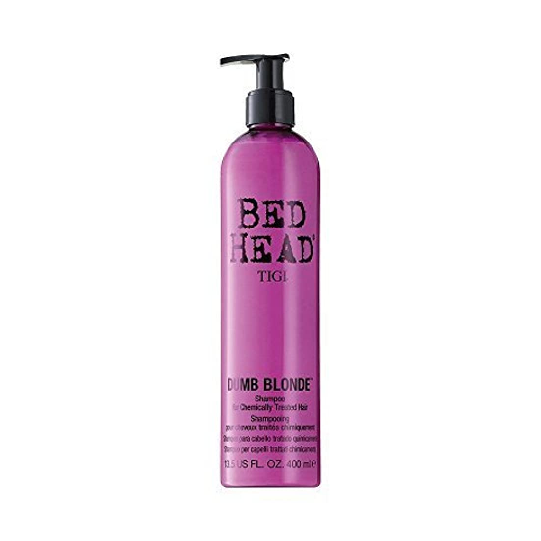 助けになるしなやかバンTigi Bed Head Dumb Blonde Shampoo (For Chemically Treated Hair) 400ml/13.5oz by Tigi [並行輸入品]