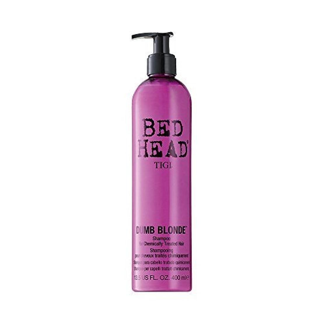 パノラマ制限交じるTigi Bed Head Dumb Blonde Shampoo (For Chemically Treated Hair) 400ml/13.5oz by Tigi [並行輸入品]