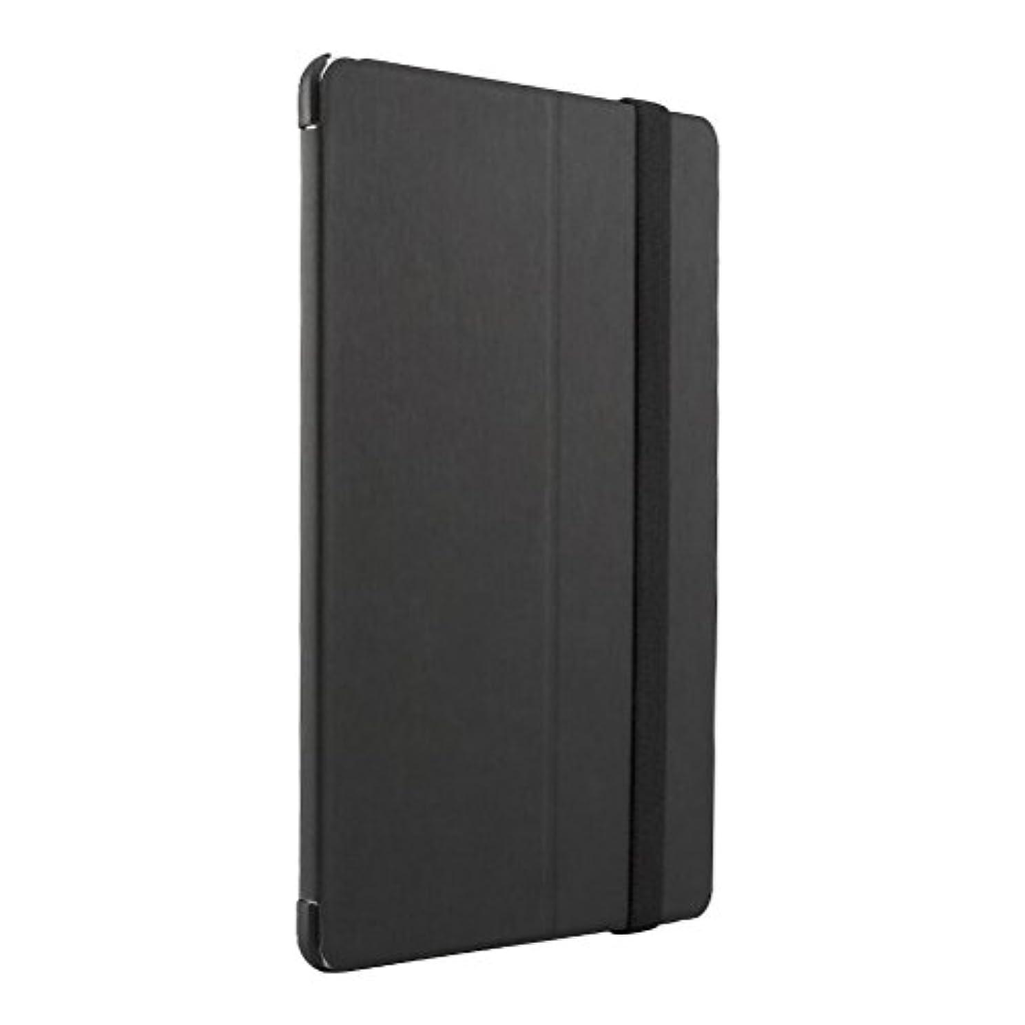 ヒステリック手順凍結iBUFFALO iPad Air 2 (2014年) レザーケース スタンド機能付き 液晶保護フィルム付 ブラック BSIPD14LFBK 【スタンド機能付のスタイリッシュなフラップ&キズを防ぐ】