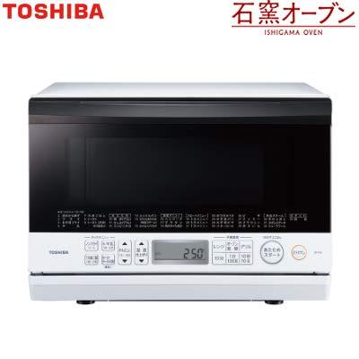 東芝 23L 角皿式スチームオーブンレンジ 石窯オーブン ER-T60-W グランホワイト